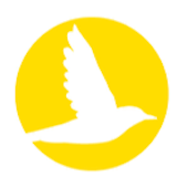 Yellow Iora bird icon