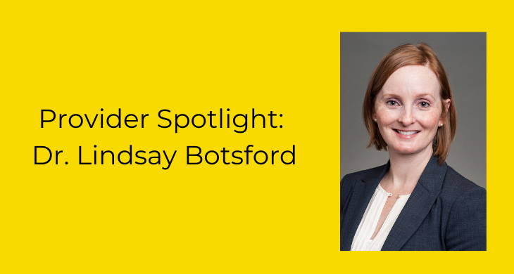 Dr. Botsford blog spotlight