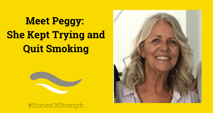Meet Peggy: She Kept Trying and Quit Smoking