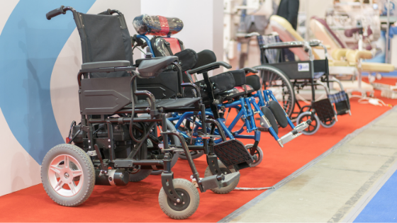 Manual and electric wheelchairs